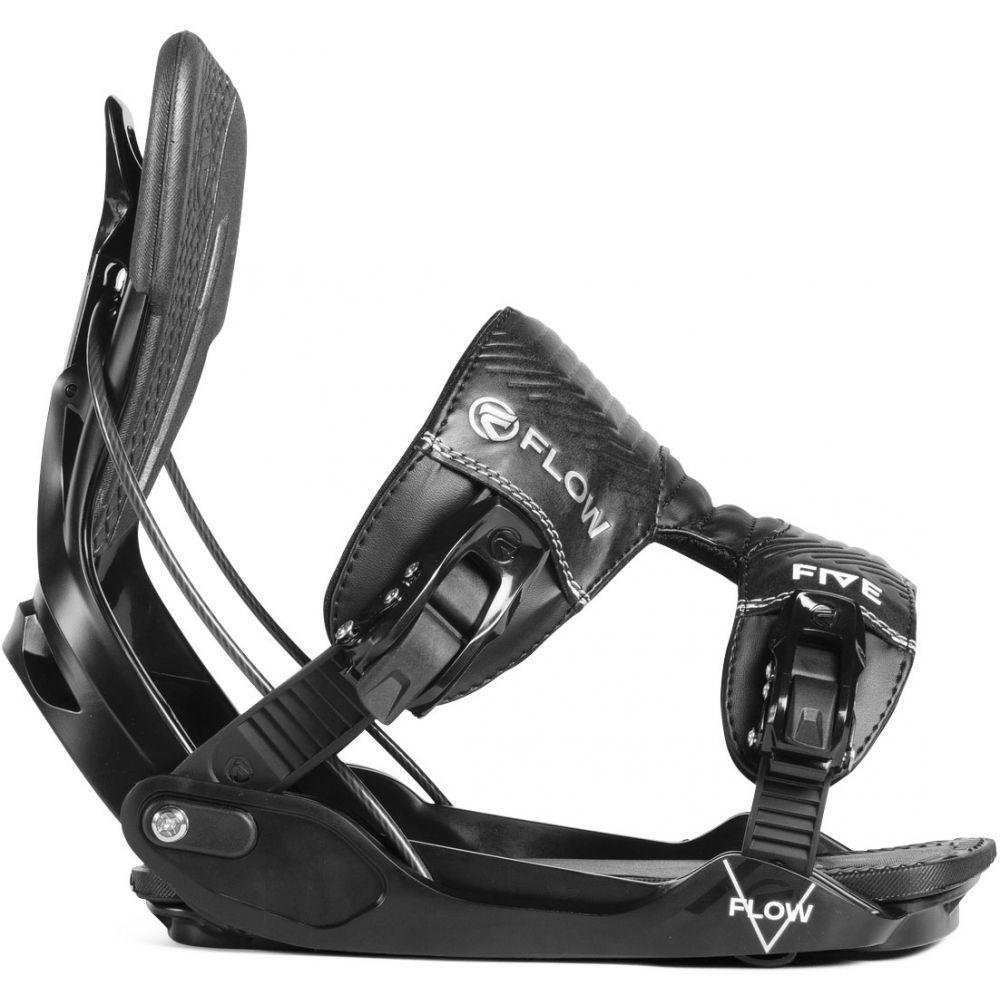 フロー Flow メンズ スキー・スノーボード ビンディング【Five Snowboard Bindings】Black