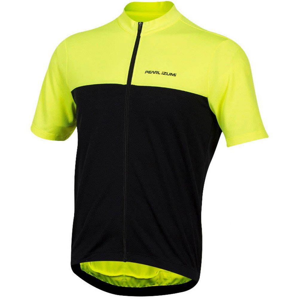 パールイズミ Pearl Izumi メンズ 自転車 トップス【Quest Bike Jersey】Screaming Yellow/Black