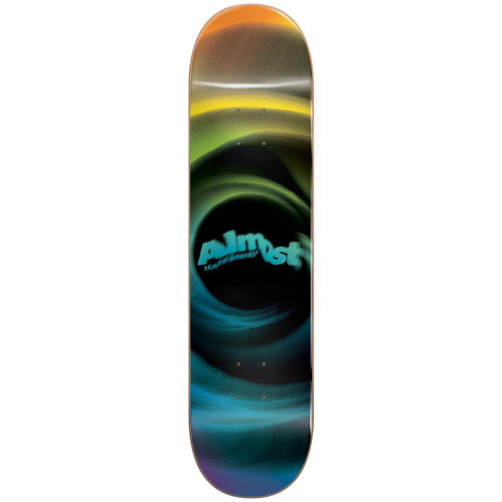 オルモスト Almost メンズ スケートボード ボード・板【Smear Skateboard Deck】Yellow/Blue