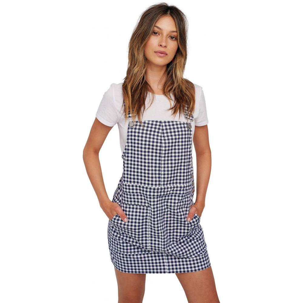 ボルコム Volcom レディース ワンピース・ドレス ワンピース【Georgia May Jagger Frochickie Overall Dress】Midnight Blue