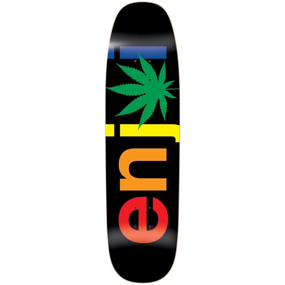 エンジョイ Enjoi メンズ スケートボード ボード・板【Chronic Logo Skateboard Deck】Rasta