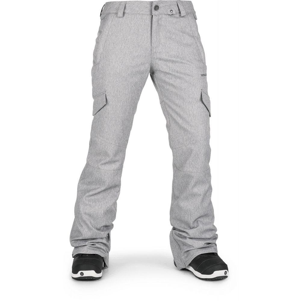 ボルコム Volcom レディース スキー・スノーボード ボトムス・パンツ【Bridger Insulated Snowboard Pants】Heather Grey