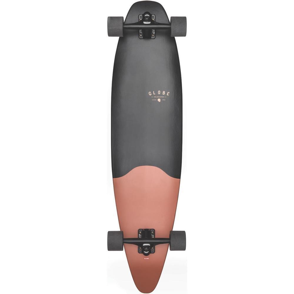 グローブ Globe メンズ スケートボード ボード・板【Pinner Evo Longboard Complete】Matte Black Coral