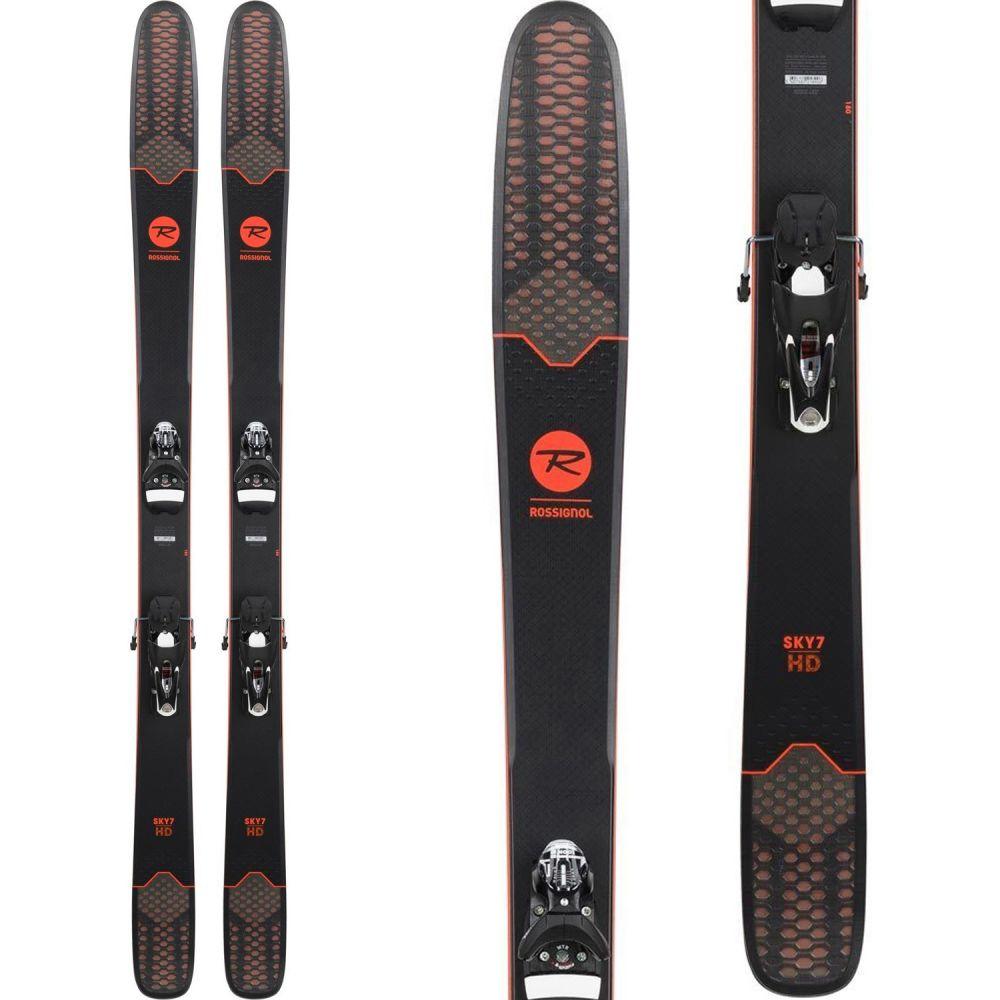 ロシニョール Rossignol メンズ スキー・スノーボード ボード・板【Sky 7 HD Skis w/ SPX 12 Dual WTR Bindings】Black/White