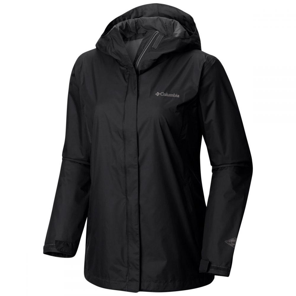コロンビア Columbia レディース アウター レインコート【Arcadia II Rain Jacket】Black