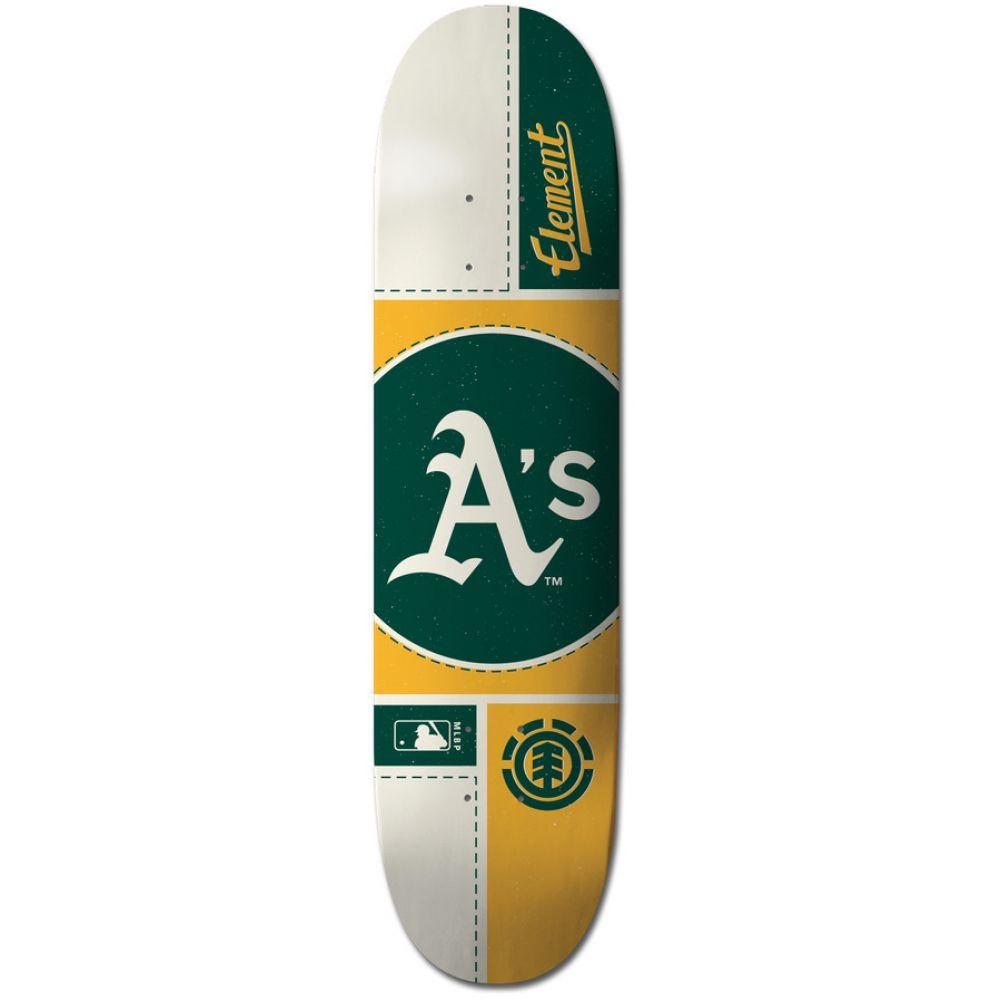 エレメント Element メンズ スケートボード ボード・板【MLB Oakland Athletics Circle Skateboard Deck】Assorted