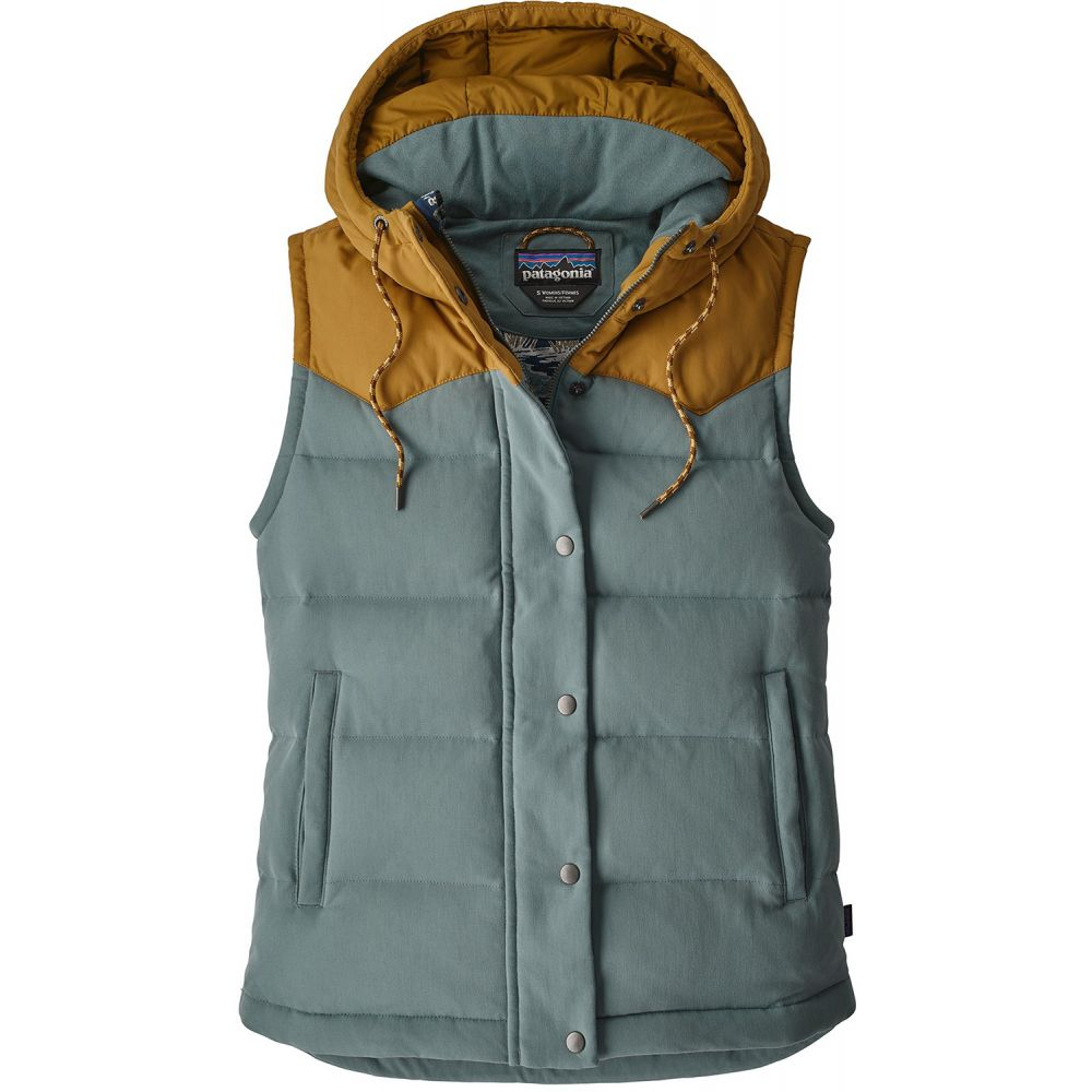 パタゴニア Patagonia レディース トップス ベスト・ジレ【Bivy Down Hooded Vest】Shadow Blue