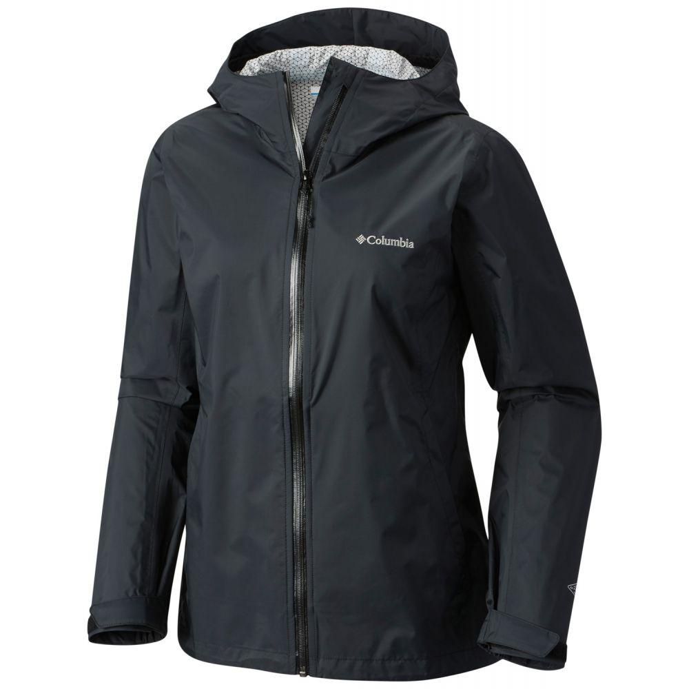 コロンビア Columbia レディース アウター レインコート【Evapouration Jacket】Black