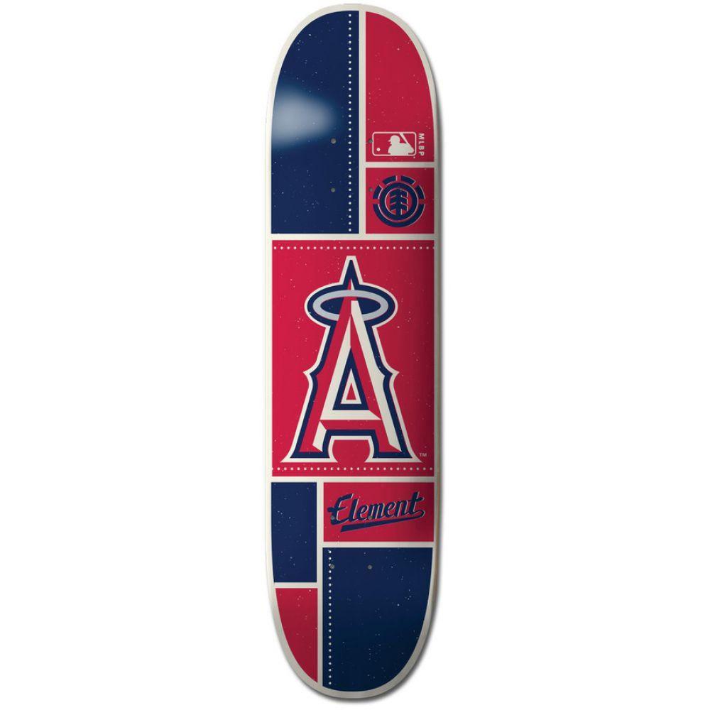 エレメント Element メンズ スケートボード ボード・板【MLB Los Angeles Angels Square Skateboard Deck】Assorted