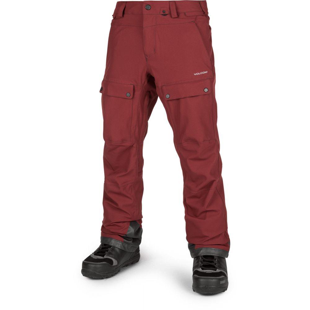 ボルコム Volcom メンズ スキー・スノーボード ボトムス・パンツ【Pat Moore Snowboard Pants】Burnt Red