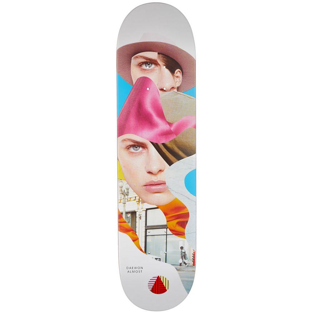 オルモスト Almost メンズ スケートボード ボード・板【Girl Collage Skateboard Deck】Daewon Song