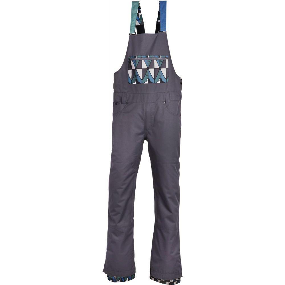 シックス エイト シックス 686 メンズ スキー・スノーボード ボトムス・パンツ【Overall Bib Snowboard Pants】Charcoal
