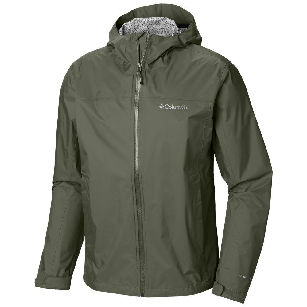 コロンビア Columbia メンズ アウター レインコート【Evapouration Jacket】Cypress