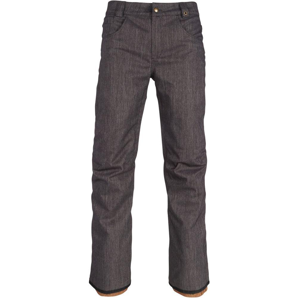 シックス エイト シックス 686 メンズ スキー・スノーボード ボトムス・パンツ【Raw Insulated Snowboard Pants】Black Denim