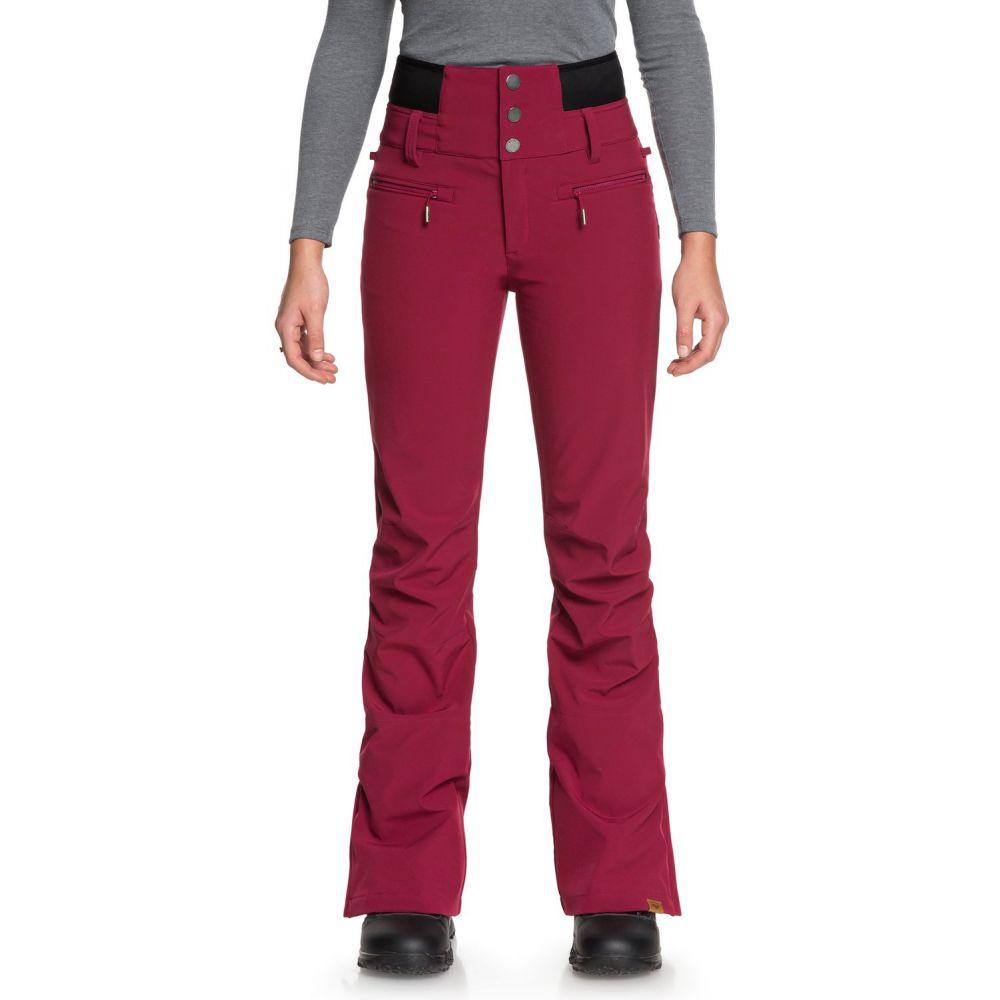 ロキシー Roxy レディース スキー・スノーボード ボトムス・パンツ【Rising High Snowboard Pants】Beet Red