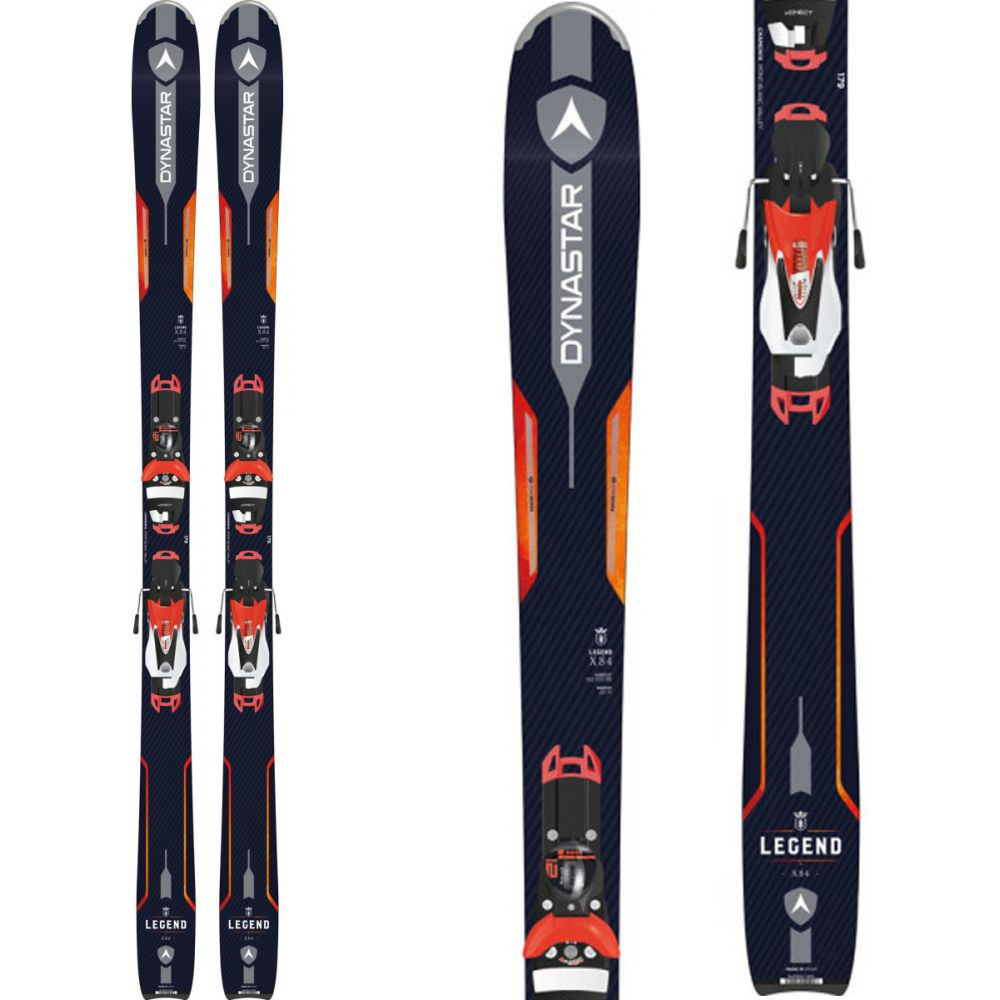 ダイナスター Dynastar メンズ スキー・スノーボード ボード・板【Legend X 84 Skis w/ Konect 12 SPX Dual Bindings】