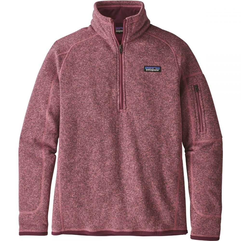 パタゴニア Patagonia レディース トップス フリース【Better Sweater 1/4 Zip Fleece】Kiln Pink