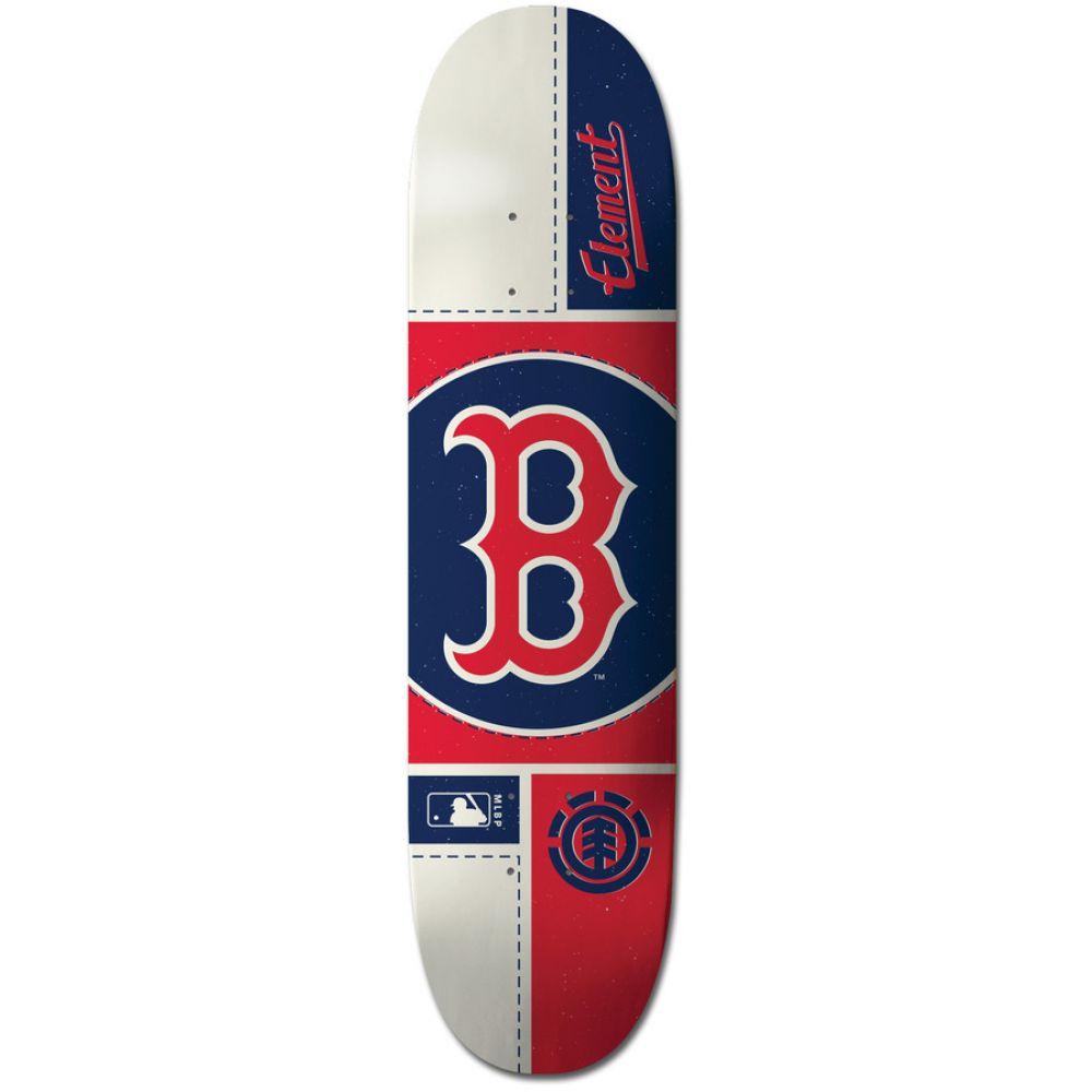 エレメント Element メンズ スケートボード ボード・板【MLB Boston Red Sox Circle Skateboard Deck】Assorted