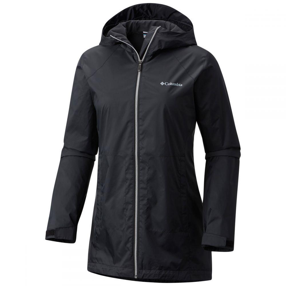 コロンビア Columbia レディース アウター レインコート【Switchback Lined Long Jacket】Black