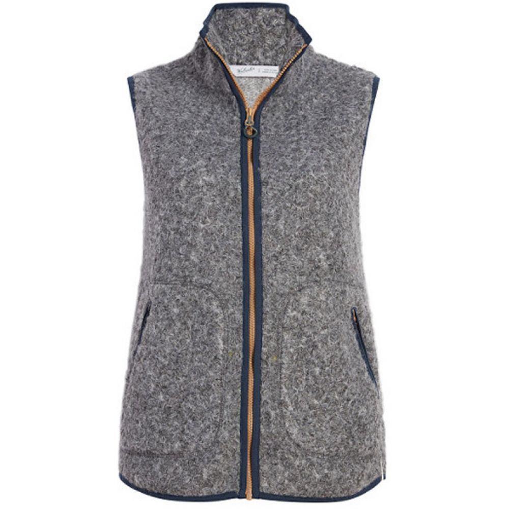 ウールリッチ Woolrich レディース トップス ベスト・ジレ【Siskiyou Fleece Vest】Grey Heather