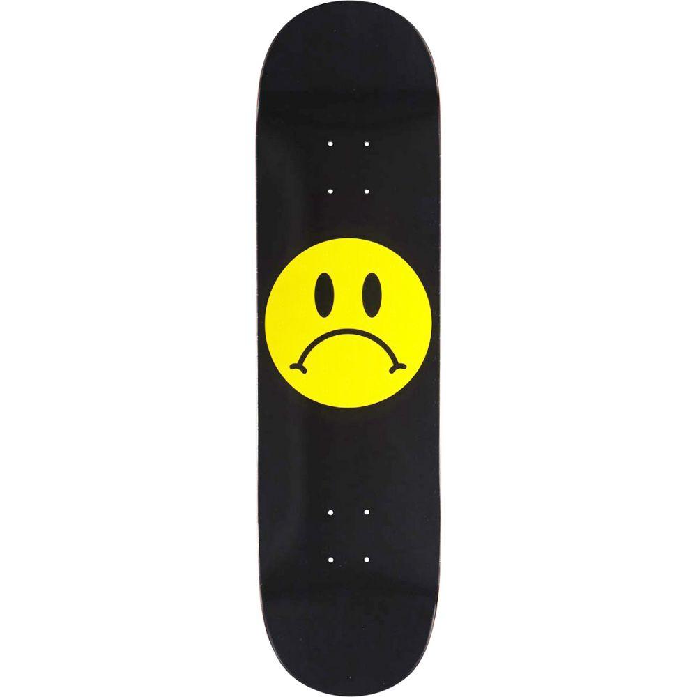 エンジョイ Enjoi メンズ スケートボード ボード・板【Frowney Face Skateboard Deck】Black