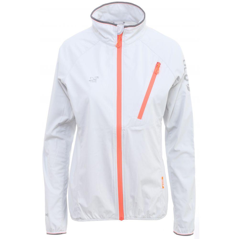 2117オブ スウェーデン 2117 of Sweden レディース アウター レインコート【Vasterplana Jacket】Light Grey/Signal Red Zip