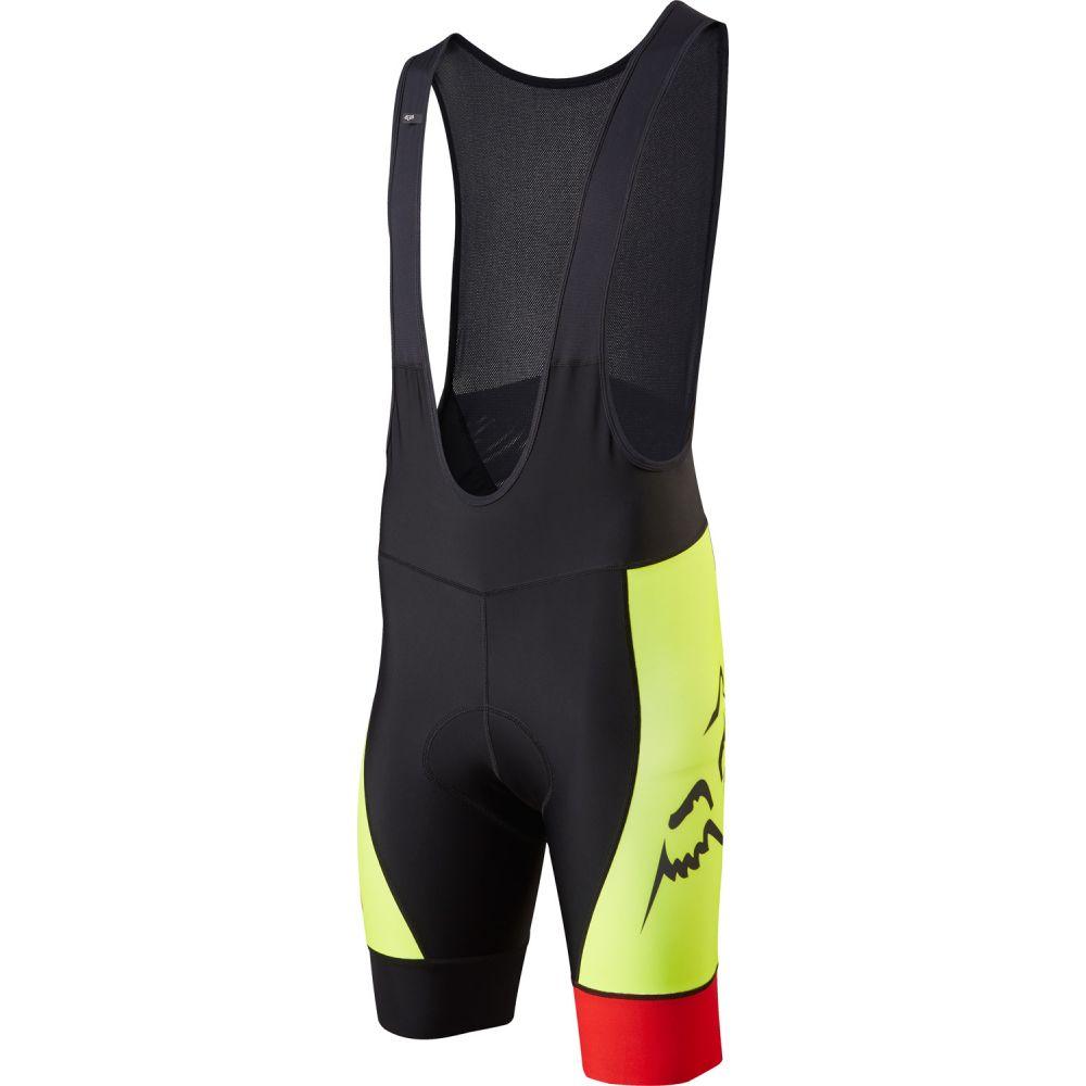 フォックス Fox メンズ 自転車 ボトムス・パンツ【LE Savant Bib Bike Shorts】Flo Yellow