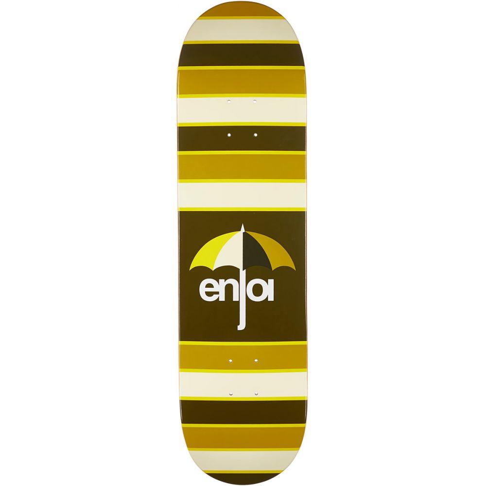 エンジョイ Enjoi メンズ スケートボード ボード・板【Stripes Hybrid Skateboard Deck】Brown