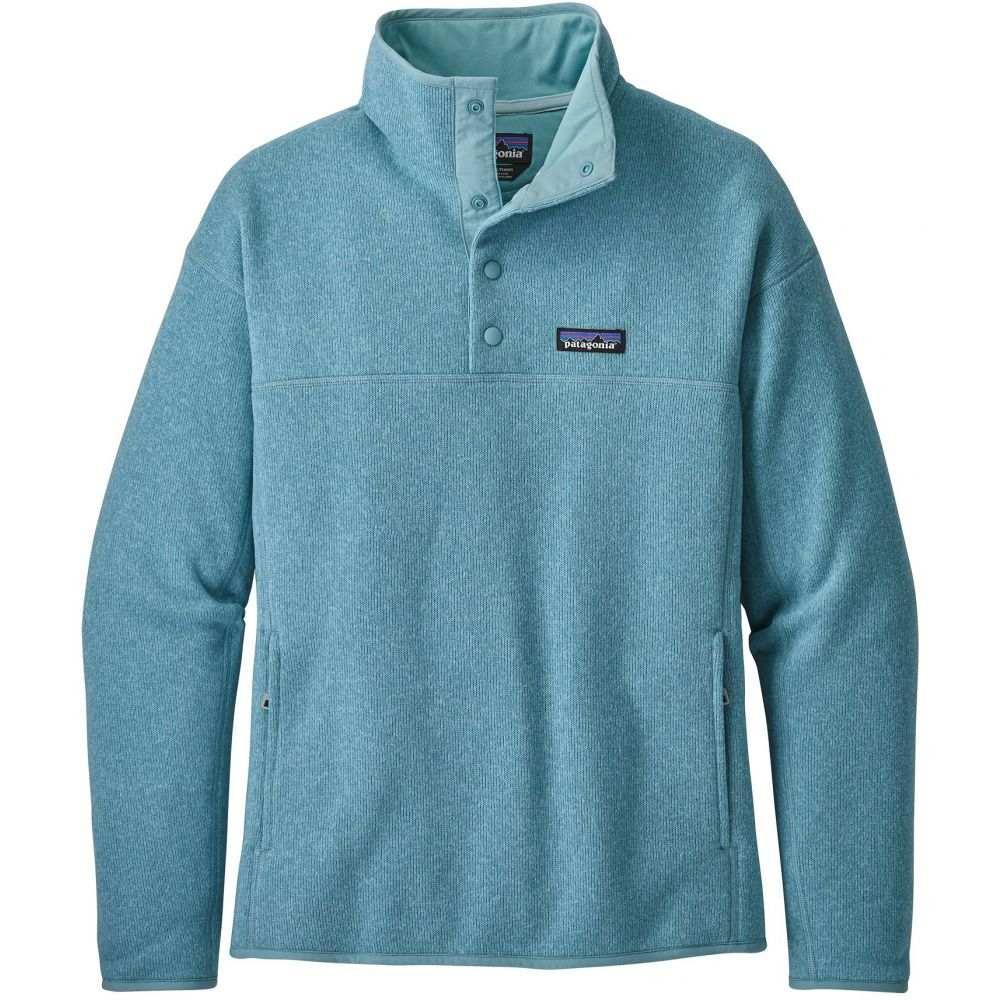 パタゴニア Patagonia レディース トップス フリース【Lightweight Better Sweater Marsupial Pullover Fleece】Dam Blue