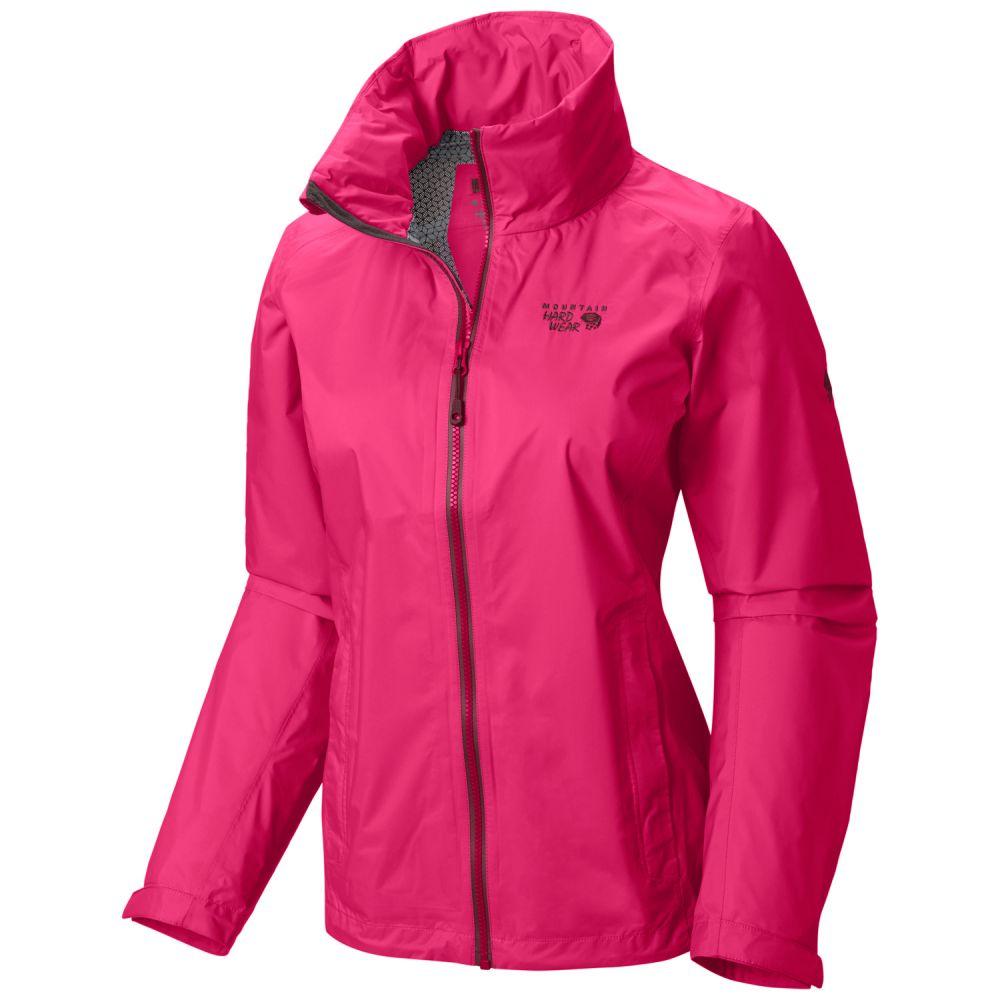 マウンテンハードウェア Mountain Hardwear レディース アウター レインコート【Plasmic Ion Jacket】Bright Rose