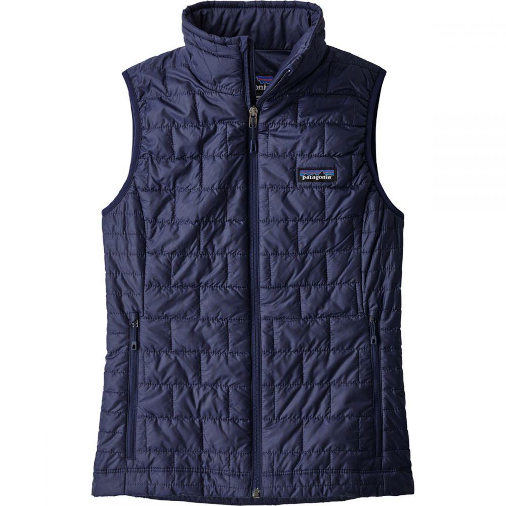 パタゴニア Patagonia レディース トップス ベスト・ジレ【Nano Puff Vest】Classic Navy
