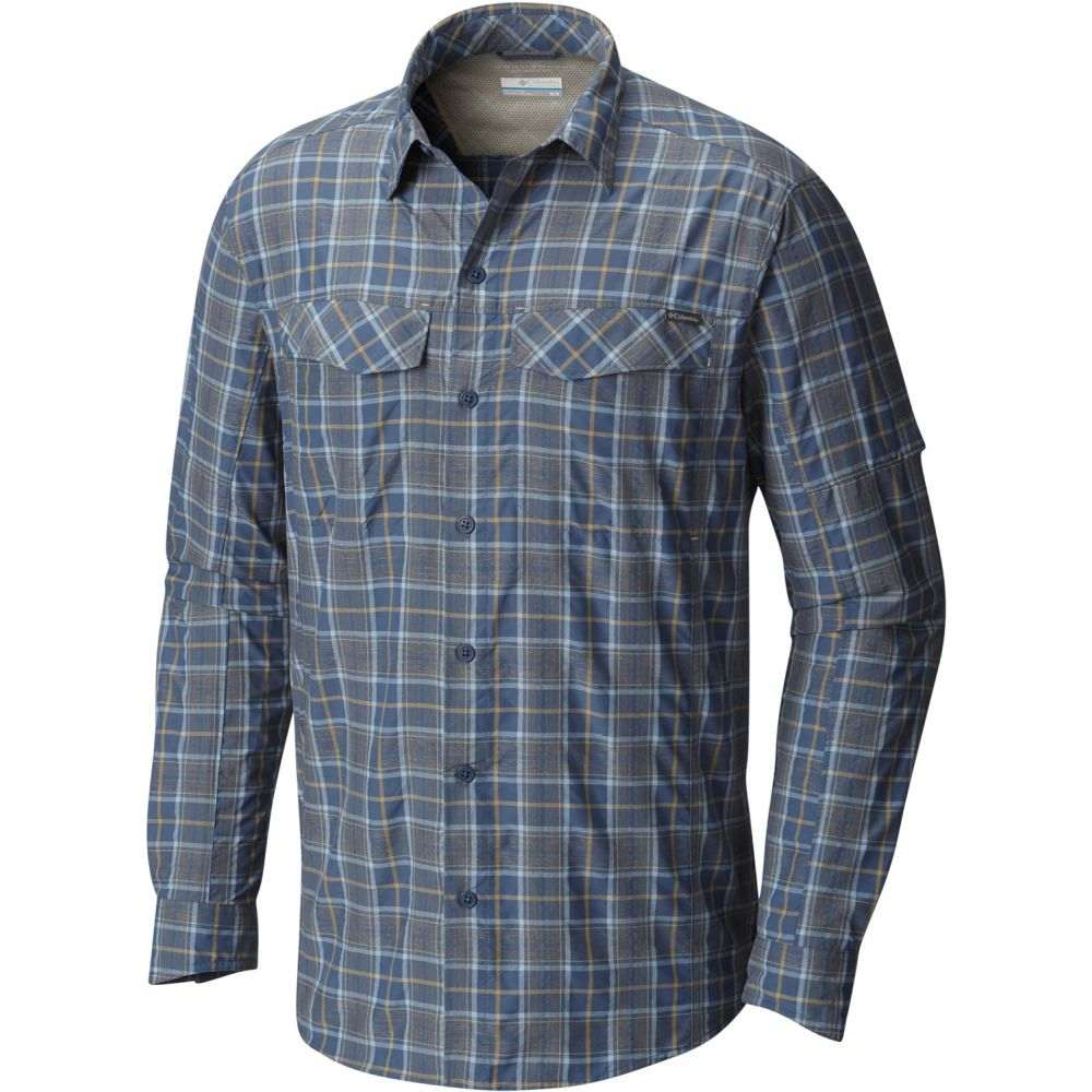 コロンビア Columbia メンズ トップス シャツ【Silver Ridge Plaid L/S Shirt】Dark Mountain/Plaid