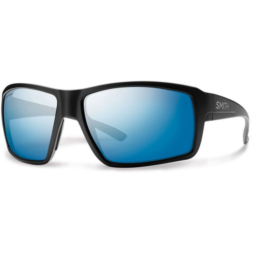 スミス Smith メンズ メガネ・サングラス【Colson Sunglasses】Matte Black/Polarized Blue Mirror Lens