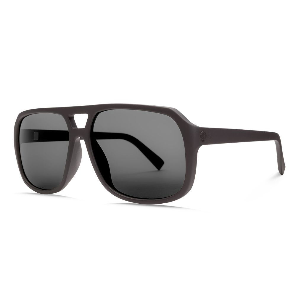 エレクトリック Electric メンズ メガネ・サングラス【Dude Sunglasses】Matte Black/Ohm Polarized Grey Lens