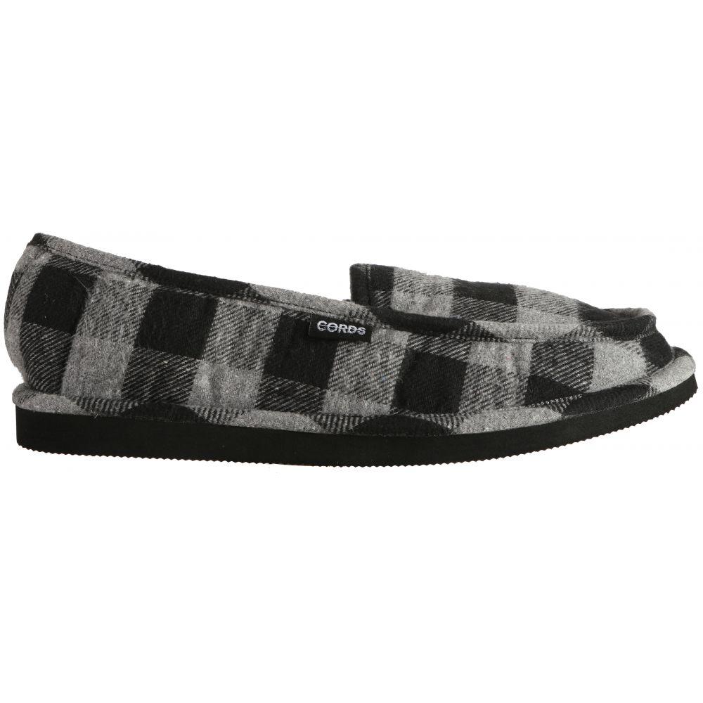 コード Cords メンズ シューズ・靴 スリッパ【Draper Slippers】Grey Plaid