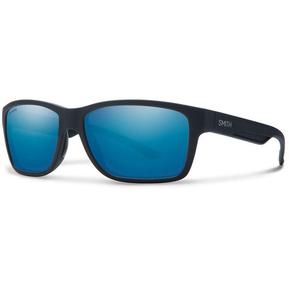 スミス Smith メンズ メガネ・サングラス【Wolcott Sunglasses】Matte Black/ChromaPop+ Polarized Blue Mirror Lens