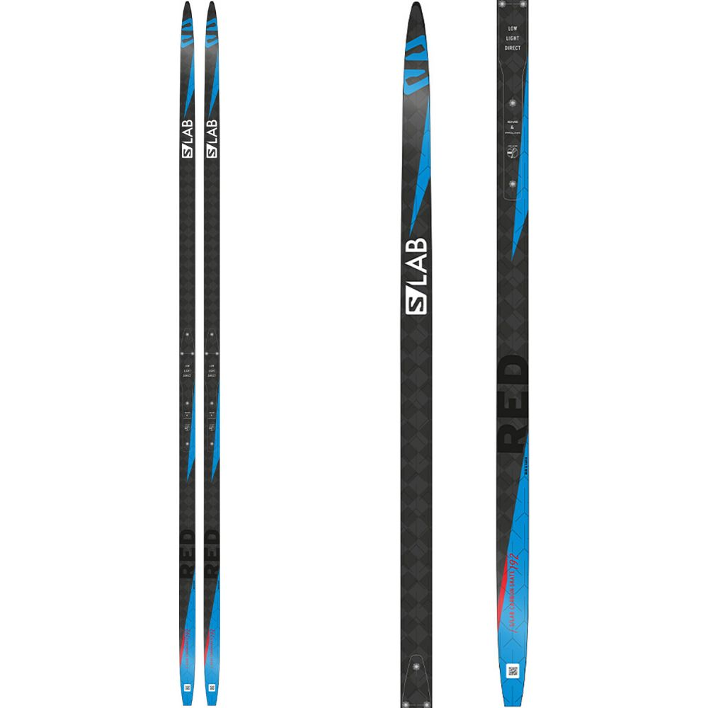 サロモン Salomon メンズ スキー・スノーボード ボード・板【S/Lab Carbon Skate Red XC Skis】