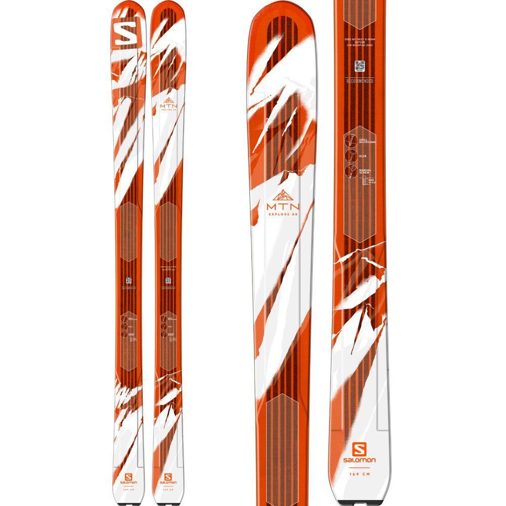 サロモン Salomon メンズ スキー・スノーボード ボード・板【MTN Explore 88 Skis】White/Orange