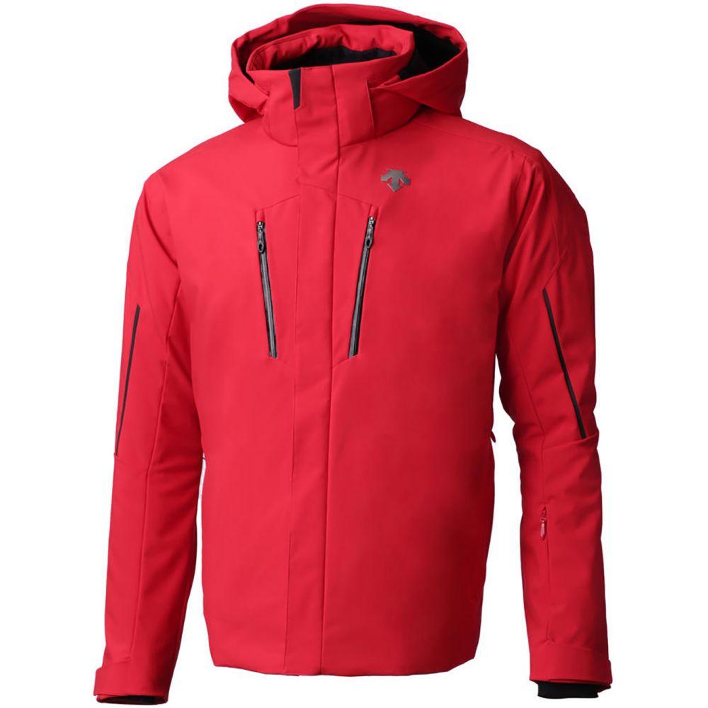 デサント Descente メンズ スキー・スノーボード アウター【Glade Ski Jacket】Black/Red