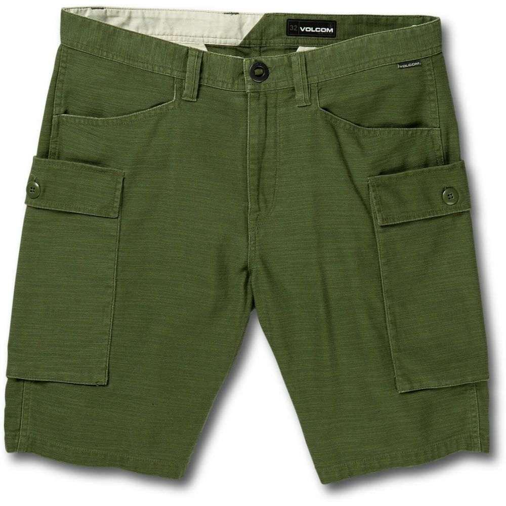 ボルコム Volcom メンズ ボトムス・パンツ ショートパンツ【Gritter Cargo Shorts】Army