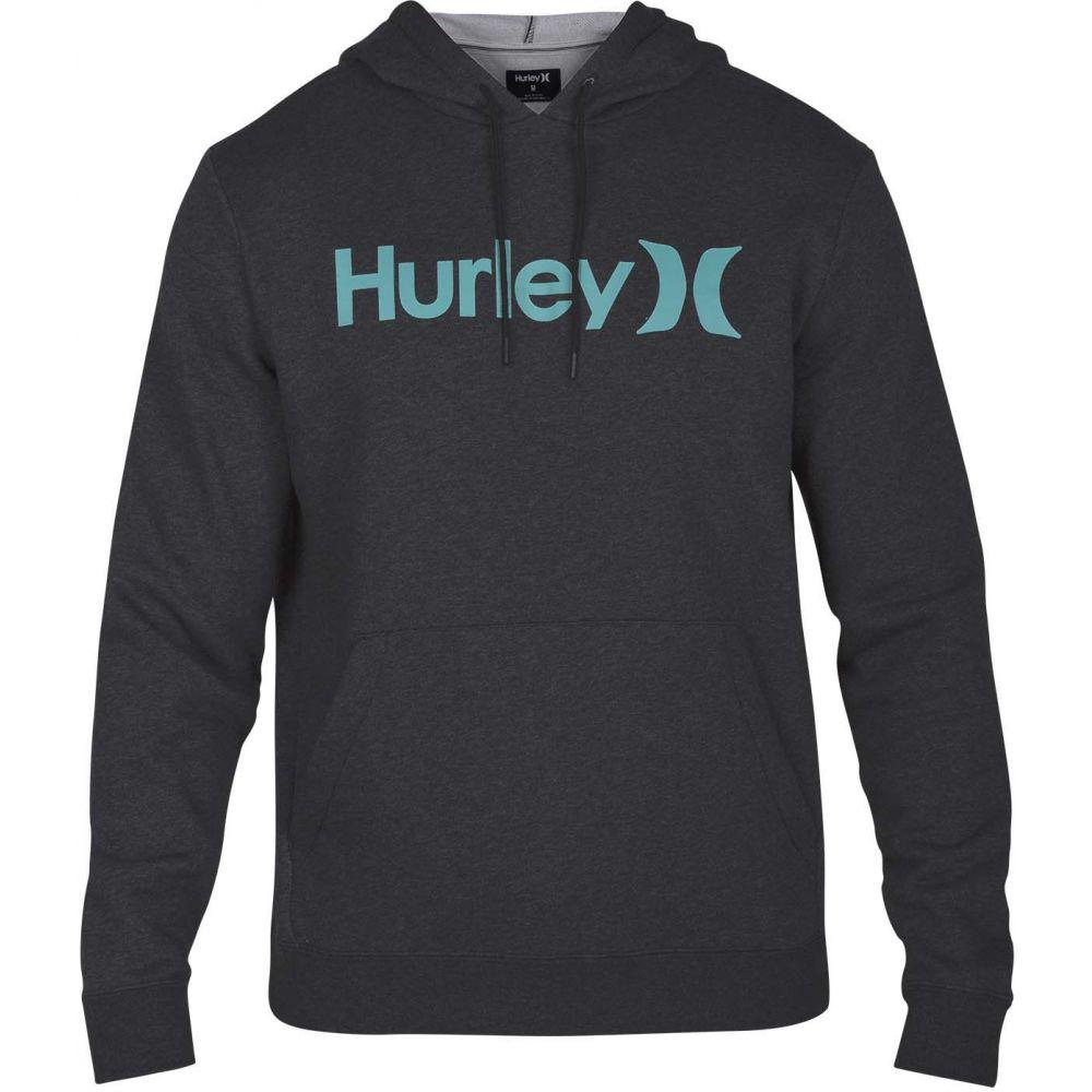 ハーレー Hurley メンズ スキー・スノーボード トップス【Surf Check One & Only Pullover Hoodie】Black Heather/Tropical Twist