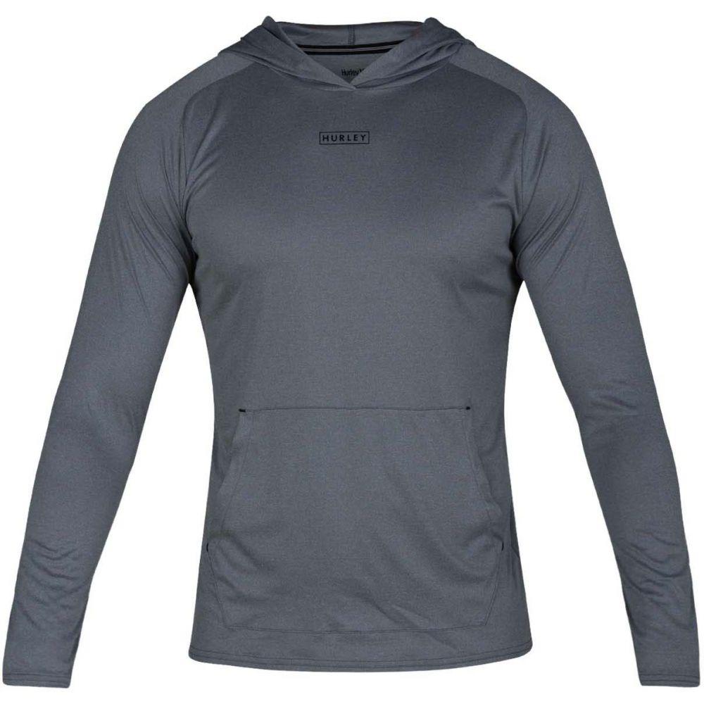 ハーレー Hurley メンズ スキー・スノーボード トップス【Quick/Dry L/S Pullover Hoodie】Cool Grey Heather