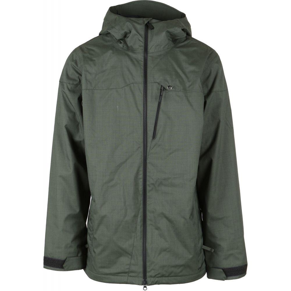 ボルコム Volcom メンズ スキー・スノーボード アウター【Prospect Snowboard Jacket】Black/Green