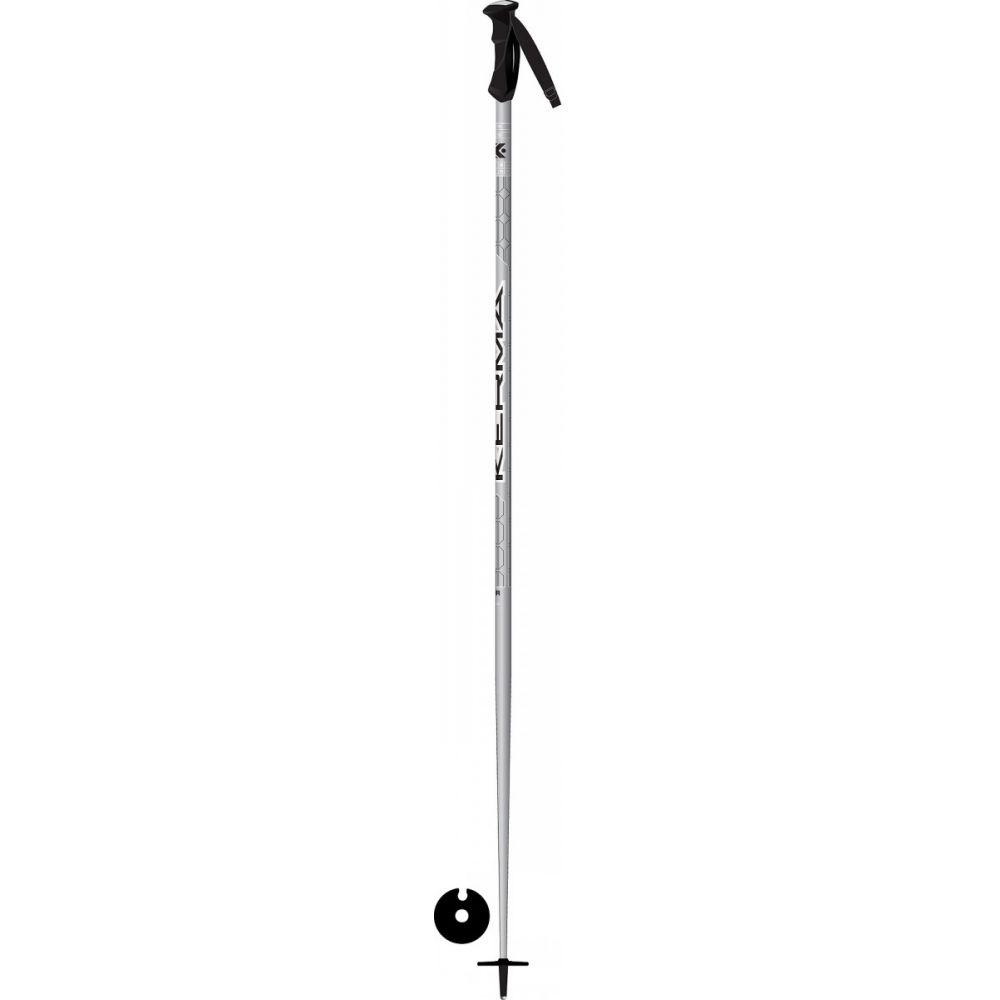 ケルマ Kerma メンズ スキー・スノーボード【Vector Ski Poles】Silver