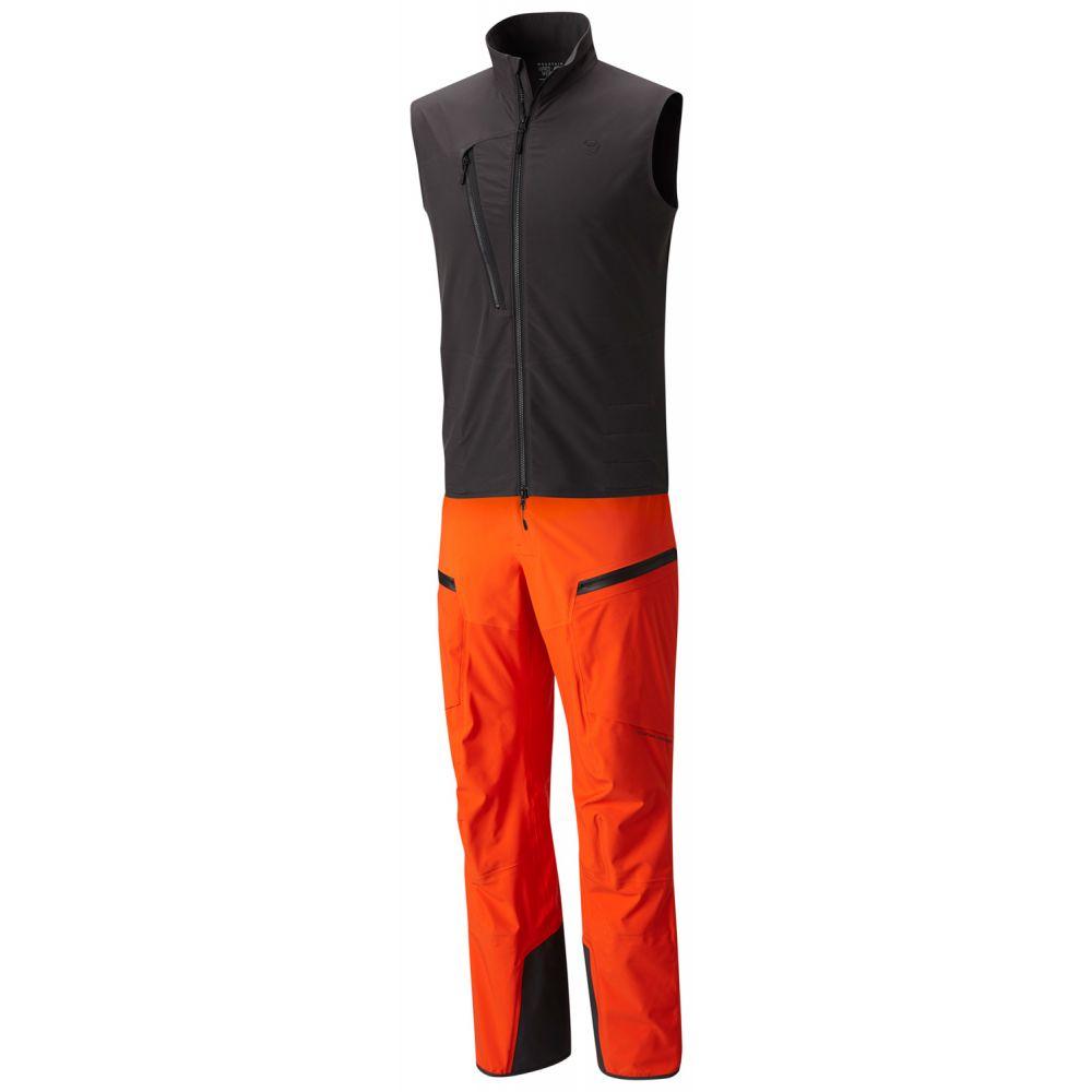 マウンテンハードウェア Mountain Hardwear メンズ スキー・スノーボード ボトムス・パンツ【CloudSeeker Bib Ski Pants】State Orange