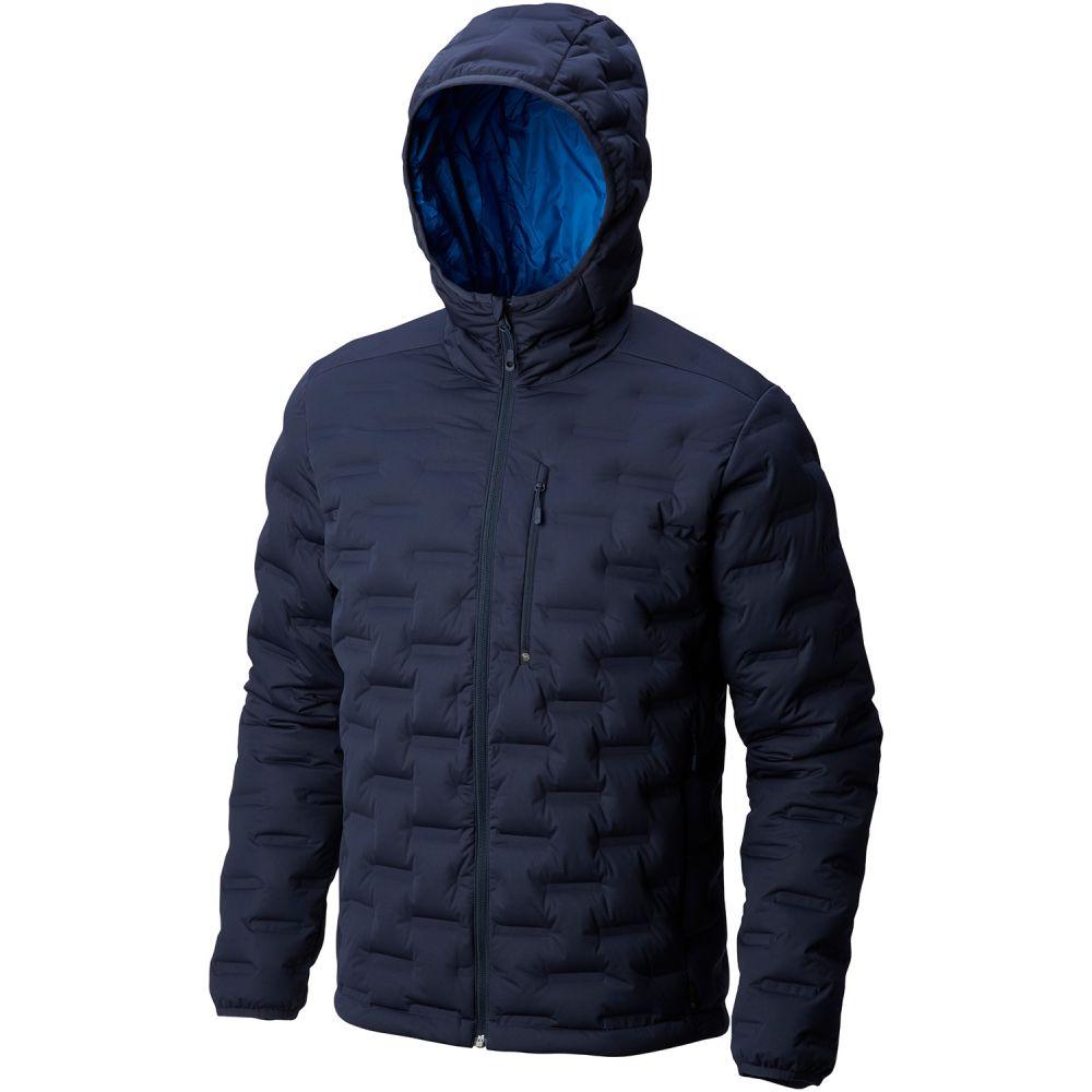 マウンテンハードウェア Mountain Hardwear メンズ アウター ダウン・中綿ジャケット【StretchDown Hooded Jacket】Dark Zinc