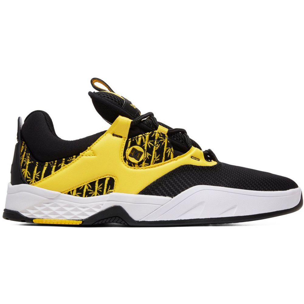ディーシー DC メンズ スケートボード シューズ・靴【Kalis S TX SE Skate Shoes】Black/Yellow
