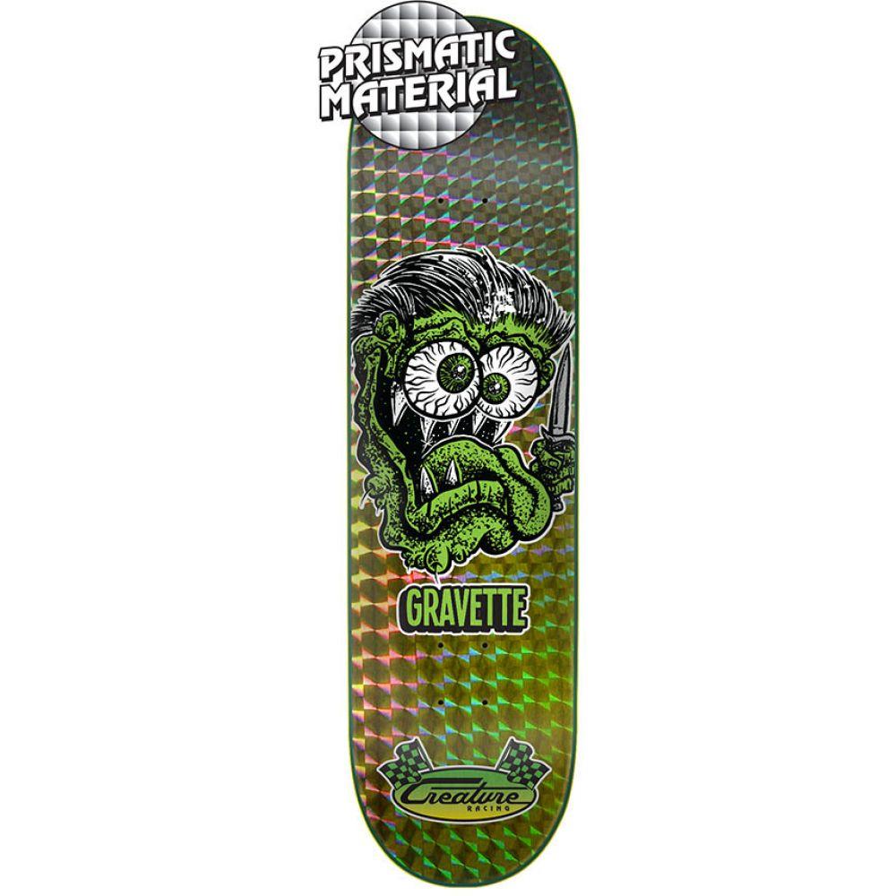 クリエーチャー Creature メンズ スケートボード ボード・板【Gravette Blade Fink Skateboard Deck】