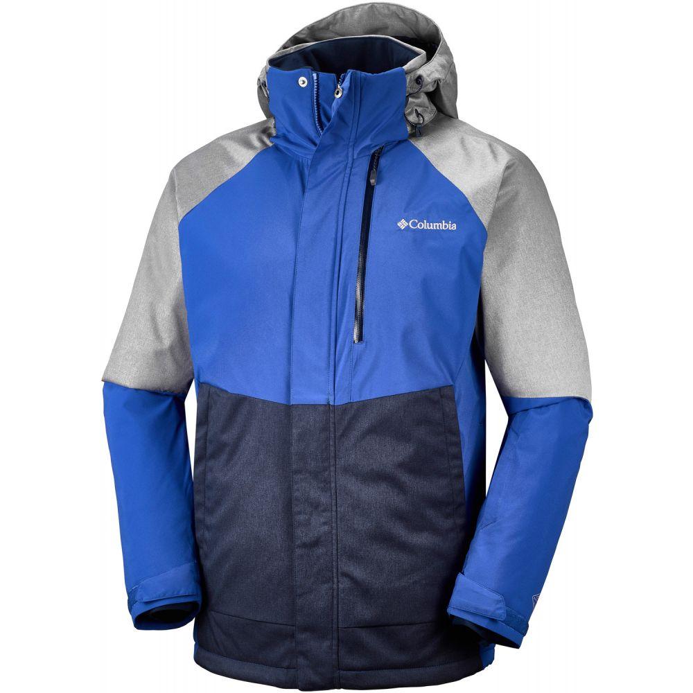 コロンビア Columbia メンズ スキー・スノーボード アウター【Wildside Ski Jacket】Azul/Boulder Heather