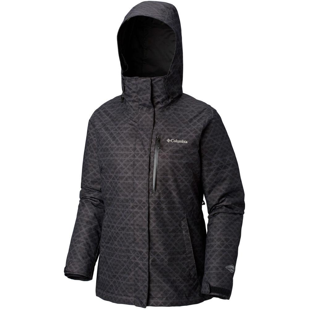 コロンビア Columbia レディース スキー・スノーボード アウター【Whirlibird III Interchange Ski Jacket】Black Diamonds Print/Black